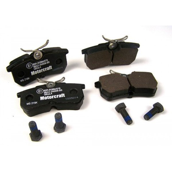 ford focus rs mk1 genuine ford rear brake pads. Black Bedroom Furniture Sets. Home Design Ideas