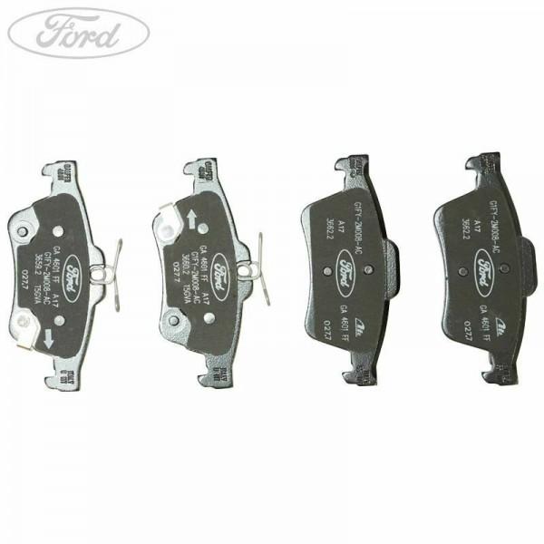 Ford Focus RS MK3 Rear brake pads.