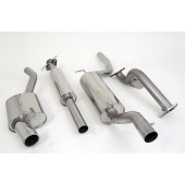 Piper Exhaust Cat back Exhaust System Focus RS MK1 (One Silencer)