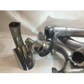 KMS Hurricane Cat Back Exhaust System only Fiesta ST180 1.6 Eco Boost ( Without Diffuser )